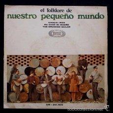Discos de vinilo: NUESTRO PEQUEÑO MUNDO (SINGLE SONO PLAY 1968) - SINNER MAN / ME CASO MI MADRE. Lote 57810004