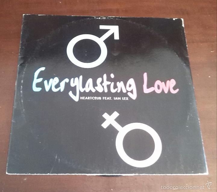 HEARTCLUB FEAT.IAN LEX - EVERYLASTING LOVE - MAXI SINGLE.12 - MUY DIFICIL (Música - Discos de Vinilo - Maxi Singles - Disco y Dance)