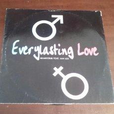 Discos de vinilo: HEARTCLUB FEAT.IAN LEX - EVERYLASTING LOVE - MAXI SINGLE.12 - MUY DIFICIL. Lote 57810613