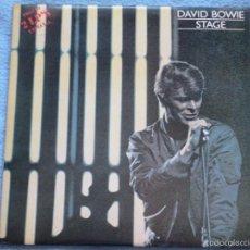 Discos de vinilo - david bowie,stage edicion española del 78 doble lp - 57811159