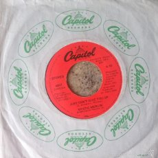 Discos de vinilo: MYSTIC MERLIN - JUST CAN'T GIVE YOU UP . SINGLE . 1980 USA . Lote 57814865