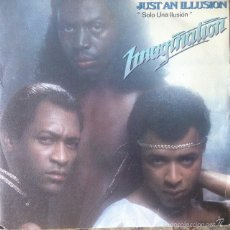 Discos de vinilo: IMAGINATION - JUST AN ILLUSION . SINGLE . 1982 RED BUS RECORDS . Lote 57815270