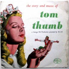 Discos de vinilo: EMBASSY SINGERS & PLAYERS - THE STORY AND MUSIC OF TOM THUMB - EP EMBASSY 1959 UK BPY. Lote 57816965