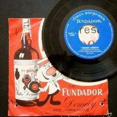 Discos de vinilo: LOS MONDAYS Y LOS TRONCOS (EP FUNDADOR 1966) EL PELIRROJO -EL COCHECITO- YO SOY AQUEL. Lote 57817509