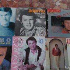 Discos de vinilo: LOTE DE 6 SINGLE DE ADAMO. Lote 57819277