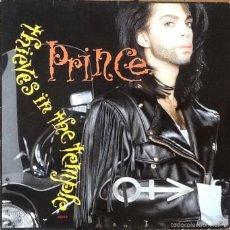 Discos de vinilo: PRINCE : THIEVES IN THE TEMPLE [DEU 1990]. Lote 56507964
