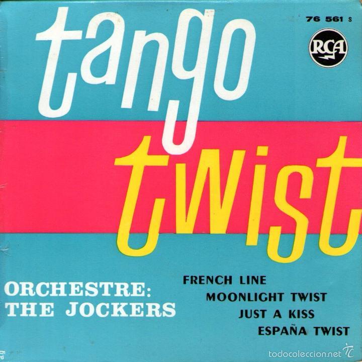 THE JOCKERS - EP VINILO 7'' - EDITADO EN FRANCIA - ESPAÑA TWIST + 3 - RCA (Música - Discos de Vinilo - EPs - Grupos Españoles de los 70 y 80)