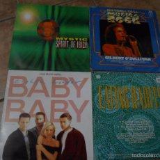 Discos de vinilo: LOTE DE 4 VINILOS. Lote 57820997