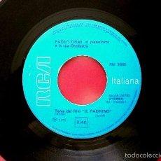 Discos de vinilo: PAOLO ORMI E LA SUA ORCHESTRA (SINGLE RCA 1972 EDICION ITALIANA) TEMA FILM IL PADRINO / PAPA. Lote 57821546
