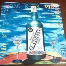Discos de vinilo: EL CUBANO - ESTA E LA VIDA - MAXI SINGLE.12. Lote 57822565