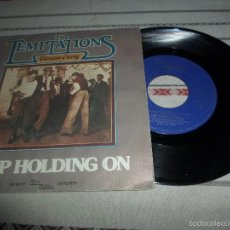 Discos de vinilo: THE TEMPTATIONS KEEP HOLDING ON. Lote 57829561