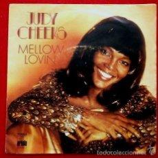 Discos de vinilo: JUDY CHEEKS (SINGLE EPIC 1977) (BUEN ESTADO) MELLOW LOVING - DARLING. Lote 57830868