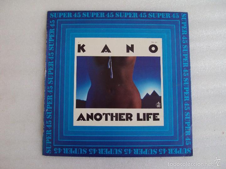 KANO, DANCE SCHOOL, ANOTHER LIFE, MAXI-SINGLE EDICION ESPAÑOLA, HISPAVOX 1983 (Música - Discos de Vinilo - Maxi Singles - Pop - Rock - New Wave Extranjero de los 80)