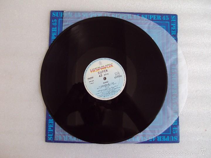 Discos de vinilo: KANO, DANCE SCHOOL, ANOTHER LIFE, MAXI-SINGLE EDICION ESPAÑOLA, HISPAVOX 1983 - Foto 3 - 57834792