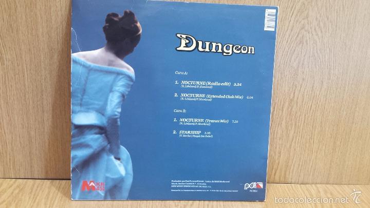 Discos de vinilo: DUNGEON. NOCTURNE. MAXI SG / PDI - 1995 / MUY BUENA CALIDAD. ***/*** - Foto 2 - 57834908