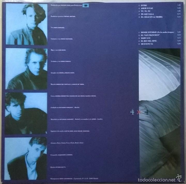Discos de vinilo: La Union-4x4, WEA-242106-1 - Foto 5 - 57838089