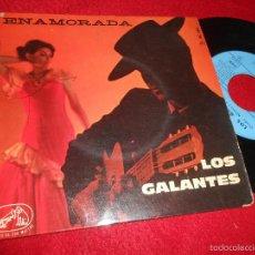 Dischi in vinile: LOS GALANTES ENAMORADA/DOS CORAZONES/AFRODITA +1 EP EDICION FRANCESA FRANCE. Lote 57841868