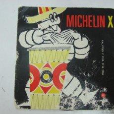Discos de vinilo: MICHELIN X - CALYPSO DE ANTONIO Y GASOLIN CHA CHA CHA - FLEXI DISC - AÑOS 60. Lote 57846799