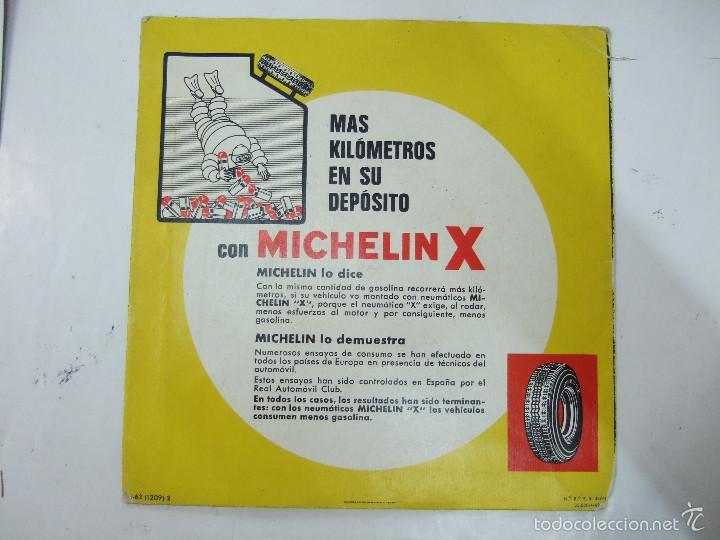 Discos de vinilo: MICHELIN X - CALYPSO DE ANTONIO Y GASOLIN CHA CHA CHA - FLEXI DISC - AÑOS 60 - Foto 2 - 57846799