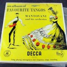 Discos de vinilo: MANTOVANI AND HIS ORCHESTRA . Lote 57847913