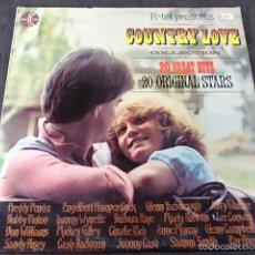 Discos de vinilo: COUNTRY LOVE COLLECTION. Lote 57848403