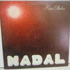 Discos de vinilo: XOAN RUBIA - NADAL - RUADA - 1980 - NM+/VG+. Lote 57850851