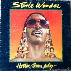 Discos de vinilo: STEVIE WONDER : HOTTER THAN JULY [ESP 1980]. Lote 56010687