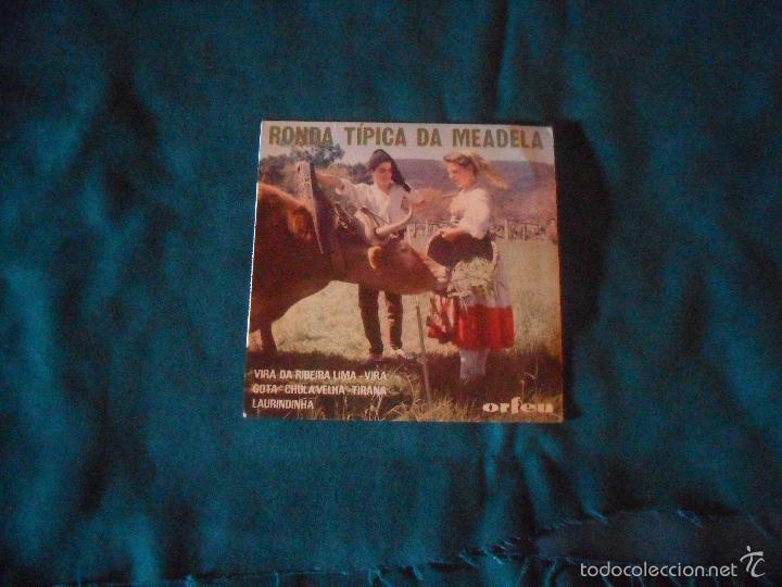 RONDA TIPICA DA MEADELA. ORFEU (Música - Discos de Vinilo - EPs - Country y Folk)