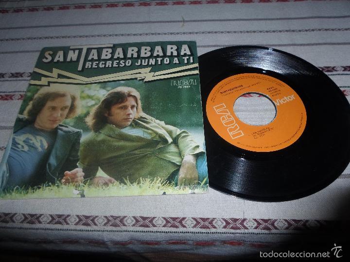 SANTABARBARA REGRESO JUNTO A TI (Música - Discos - Singles Vinilo - Grupos Españoles de los 70 y 80)