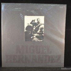 Discos de vinilo: JOAN MANUEL SERRAT - MIGUEL HERNANDEZ - LP. Lote 68006957
