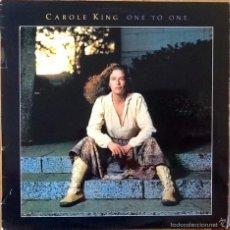 Disques de vinyle: CAROLE KING : ONE TO ONE [ESP 1982] LP. Lote 56167789