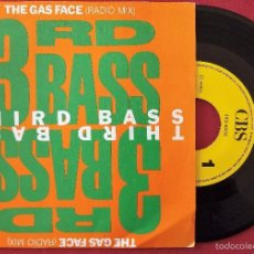 Disques de vinyle: 3RD BASS, THE GAS FACE (RADIO MIX) (CBS 1989) SINGLE PROMOCIONAL 1 SOLA CARA ESPAÑA. Lote 178874593
