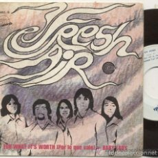 Discos de vinilo: FRESH AIR / FOR WHAT IT'S WORTH / SINGLE 45 RPM / EDITADO POR EXIT 1970 ESPAÑA. Lote 57857856