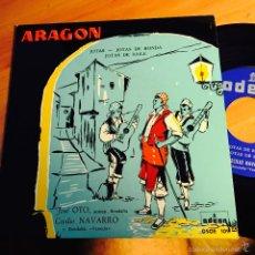 Discos de vinilo: JOSE OTO CECLIO NAVARRO (ARAGON, JOTAS ) EP ESPAÑA 1958 NUEVO (EPI1). Lote 57858684