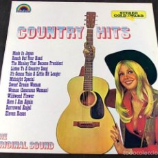 Discos de vinilo: COUNTRY HITS . Lote 57864477