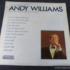Discos de vinilo: ANDY WILLIAMS THE ALAN CADDY ORCHESTRA & SINGERS. Lote 57864496
