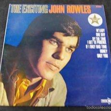 Discos de vinilo: JOHN ROWLES. Lote 57865172
