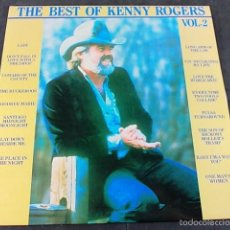Discos de vinilo: KENNY ROGERS THE BEST. Lote 57865843