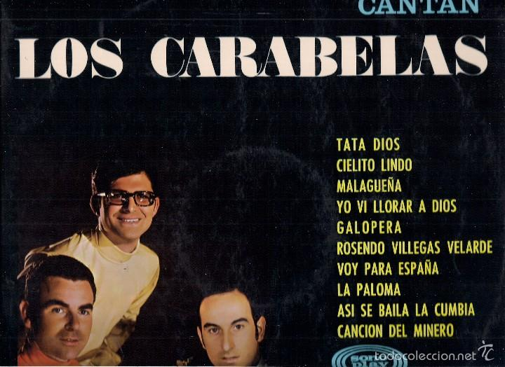 LOS CARABELAS : CANTAN. (ARREGLOS Y DIR.: J. Mª MORALES. LP. SONOPLAY, 1968) (Música - Discos - LP Vinilo - Grupos Españoles 50 y 60)