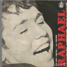 Discos de vinil: RAPHAEL EP SELLO HISPAVOX AÑO 1966 EDITADO EN ARGENTINA FESTIVAL DE EUROVISION. Lote 57870291