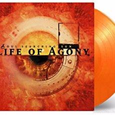 Discos de vinilo: LIFE OF AGONY - SOUL SEARCHING SUN LTD. VINILO NARANJA/AMARILLO 180G LP PRECINTADO. Lote 57873380
