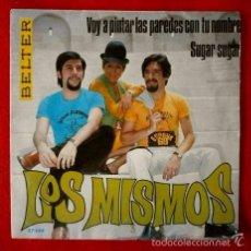 Discos de vinilo: LOS MISMOS (SOLO PORTADA / FUNDA SIN DISCO) VOY A PINTAR LAS PAREDES -SINGLE (TAMBIEN SE REGALA). Lote 57889751