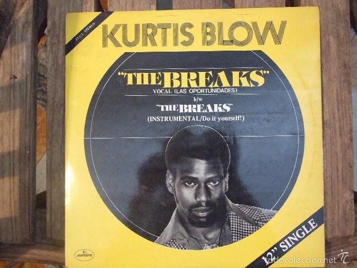 KURTIS BLOW - THE BREAKS - MERCURY 1980 EDICION ESPAÑOLA MUY BUEN ESTADO (Música - Discos de Vinilo - Maxi Singles - Rap / Hip Hop)