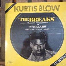Discos de vinilo: KURTIS BLOW - THE BREAKS - MERCURY 1980 EDICION ESPAÑOLA MUY BUEN ESTADO. Lote 57889991