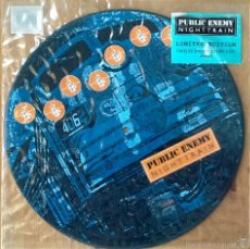 Discos de vinilo: PUBLIC ENEMY : NIGHTTRAIN [UK 1992] 12'/PICTURE DISC. Lote 55275339