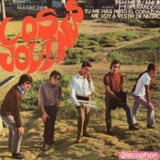 Discos de vinilo: JOVENES, EP, TRAEME TU AMOR + 3, AÑO 1965. Lote 57892006