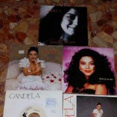 Discos de vinilo: LOTE DE 5 SINGLE CANDELA. Lote 57893754