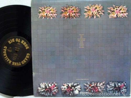Discos de vinilo: grand funk railroad - BORN TO DIE 1975 !! rara completa 1ª edic org usa + encarte, exc - Foto 3 - 57893789