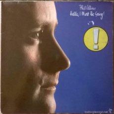 Discos de vinil: PHIL COLLINS-HELLO, I MUST BE GOING!, WEA-WEA 99263,. Lote 57895102