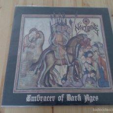 Discos de vinilo: NOKTURNE -EMBRACER OF DARK AGES-LP BLACK METAL THRASH METAL. Lote 57904733